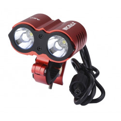 5000 Lumen Waterproof Cree XML U2 LED Bicycle Light Bike Light Lamp - Red