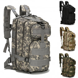 Large Outdoor Camouflage Backpack