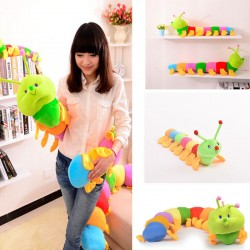 Colorful Soft Inchworm Doll