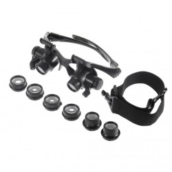 LED Glasses Magnifying Loupe