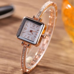 Unique Square Dial Women Watch