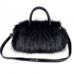 Fashionable Furry Handbag