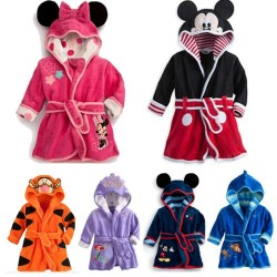 Hooded Bathrobe for Kids