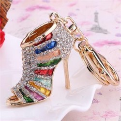 High Heels Key Chain