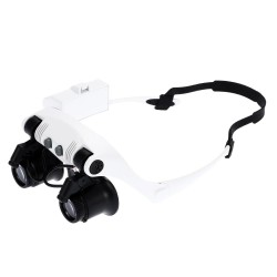 Meterk Portable Head Wearing Magnifying Glass