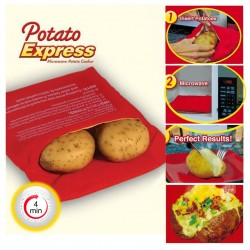 Microwave Potato Express Baking Bag
