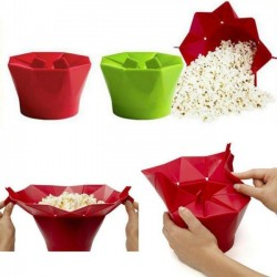 Microwave Silicone Popcorn Maker