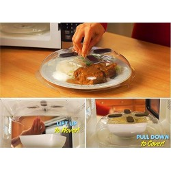 Magnetic Microwave Food Cover