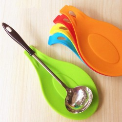 Heat Resistant Silicone Spoon Mat