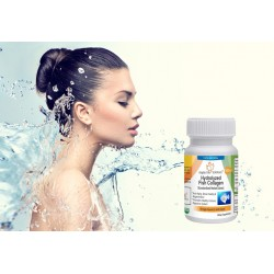 High Quality Hydrolyzed Fish Collagen Capsules 90 % protein