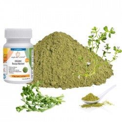 ORGANIC Bacopa Monnieri Improve Memory Anti-Stress