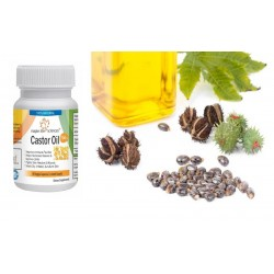 Capsules of pure and high quality Castor Oil