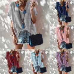 Loose Casual Short Sleeve Shirt