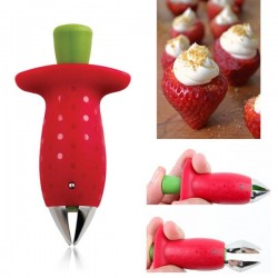 Fruit Strawberry Tomato Huller Gem Remover