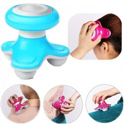 Mini Portable Vibration Electric Body Head Massager