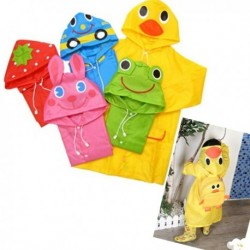 Cute and funny cartoon raincoats