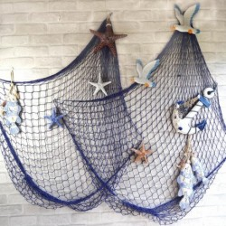 Decorative Fish Net With Shells