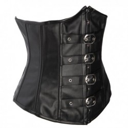 Sexy PU Leather Corset