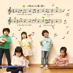 Music Note Room Decor Art Wall Sticker