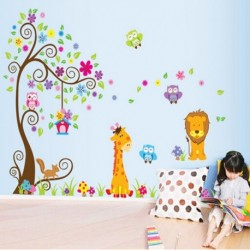 Cartoon Tree Children's Rooms Decor