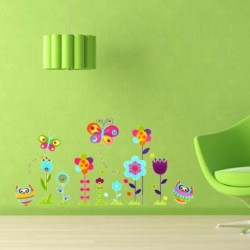 Room Decor Colorful Flower Wall Sticker