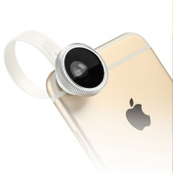 Universal Clip Super Fisheye Fish Eye Camera Lens Mobile Phone Lens
