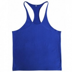 Summer Cotton Plain Gym Tank Top