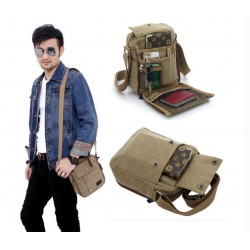 Men Women Canvas Shoulder Bag