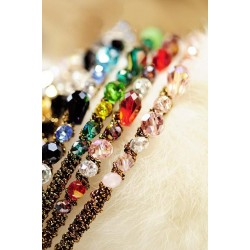 Sparkling Irregular Crystal Hair Hoop