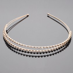 Hair Hoop with Sparkling Rhinestone