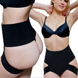 Women Plus Size Waist Cincher Hips Lift Shaper Butt Enhancer Panty Tummy Control Boyshort