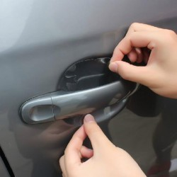 Universal Invisible Car Door Handle Scratches Protective 8pcs