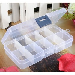 Empty Storage Case Box Adjustable Detachable-Compartment