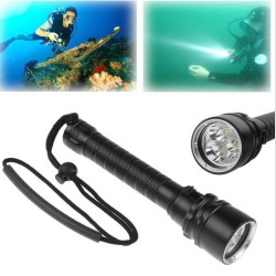 Diving Underwater Waterproof Flashlight