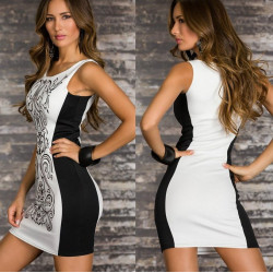 Sexy Sleeveless Bodycon Party Cocktail