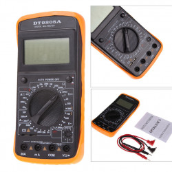 Digital Multimeter LCD AC/DC Ammeter