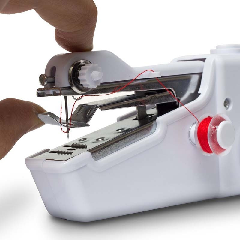 Mini HandHeld Clothes Sewing Machine Mini Portable Handy Stitch Adorable Quick Sewing Machine