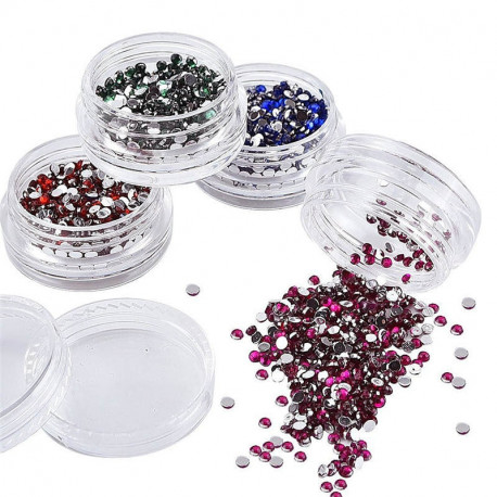 Nail Art Rhinestones with 12 Colors