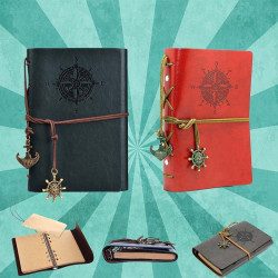 Vintage PU Leather Notebook
