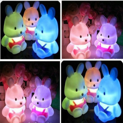 Kids Baby LED Rabbit Night