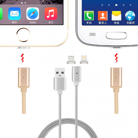 Braided Magnetic Adapter Charging Cable