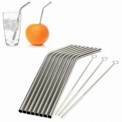 Stainless Steel Metal Drinking Straws