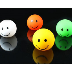 7 Color LED Smile Face