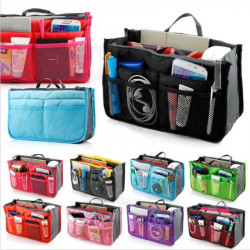 Woman Travel Insert Handbag Large Liner Organiser