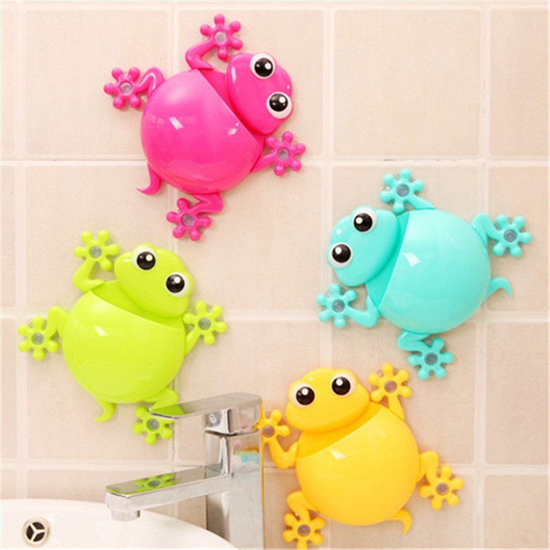Cute animal frog bathroom accessories creative cute for Cute bath accessories