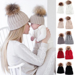 Mother & Child warm Winter Knit Beanie