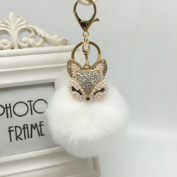 Fox Style Key Chain Holder in 9 colors
