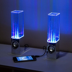 USB Colorful Water Stereo Speaker