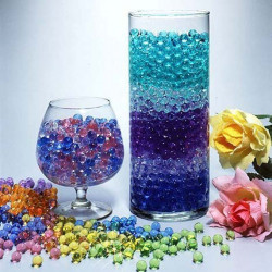 1000 Round Crystal Water Pearls