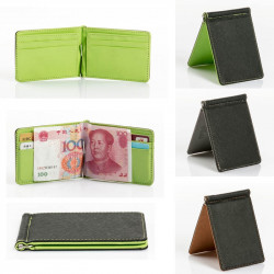 Leather Men Folding Wallet